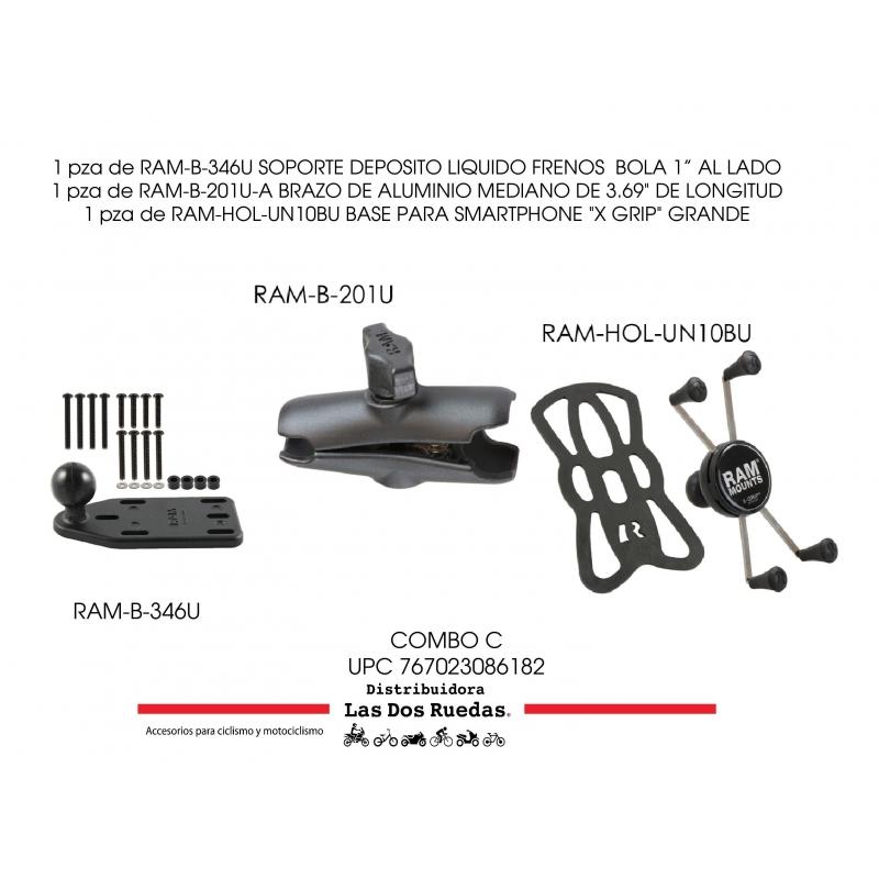 KIT COMPLETO RAM SOPORTE DEPÓSITO CLUTCH / FRENOS AL LADO