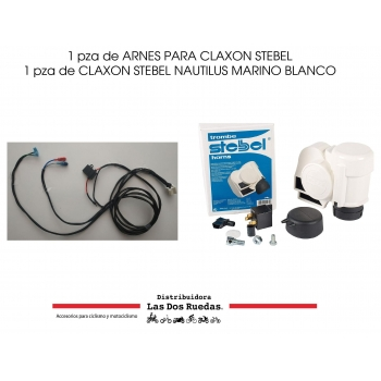 KIT DE ARNES + CLAXON STEBEL NAUTILUS MARINO