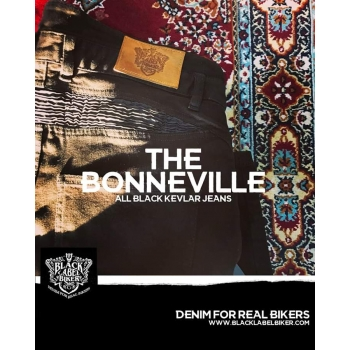 JEANS BLACK LABEL BIKER BONEVILLE